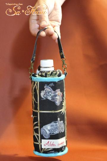 500ml用ペットボトルケース、カッコイイ柄で作りました-2
