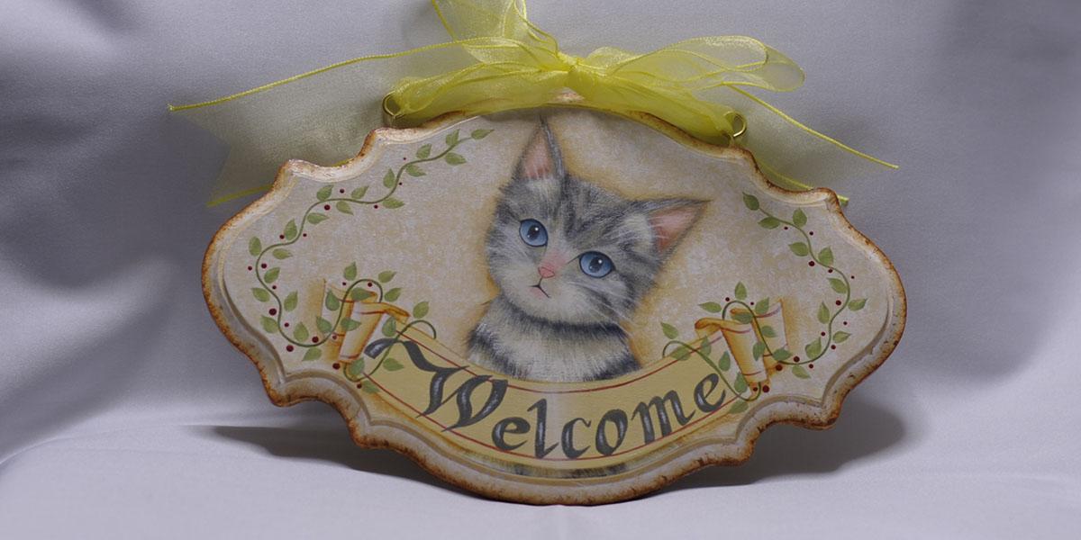 子猫のウェルカム