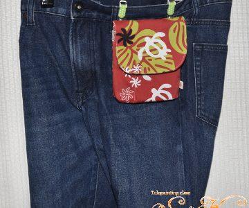 移動ポケット・ホヌ(赤)tetoteに出品しています