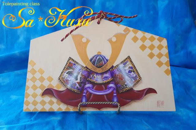 180327紫かぶと飾り-1