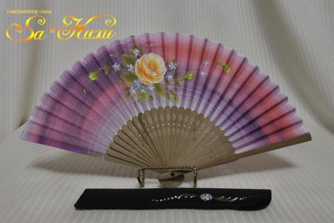 180427黄薔薇扇子-1