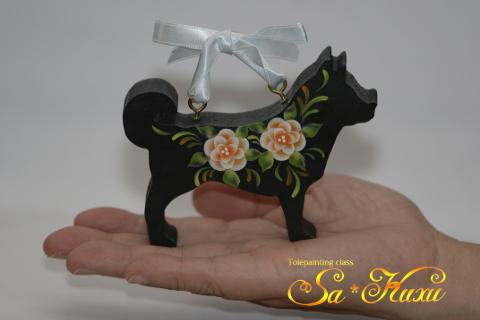180513犬ウェルカム緑黒-1