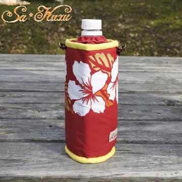 180623ハイビスカス赤ペットボトルケース-1