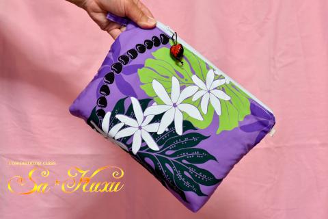 180716ティアレ大きめポーチ紫-1