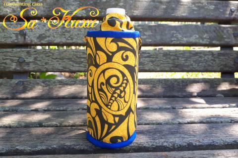180803ホヌペットボトル黄-1