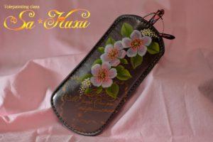 180802野薔薇ソフトメガネケース-1