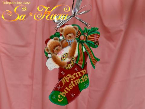 181127クリスマスソックス-1