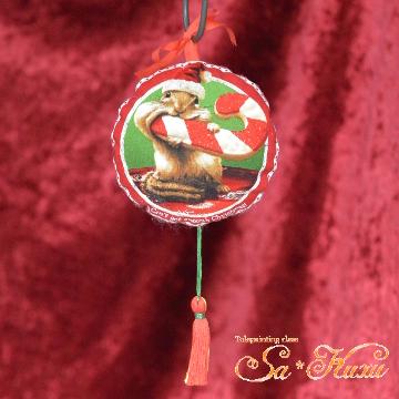 181103クリスマス飾りリス-1